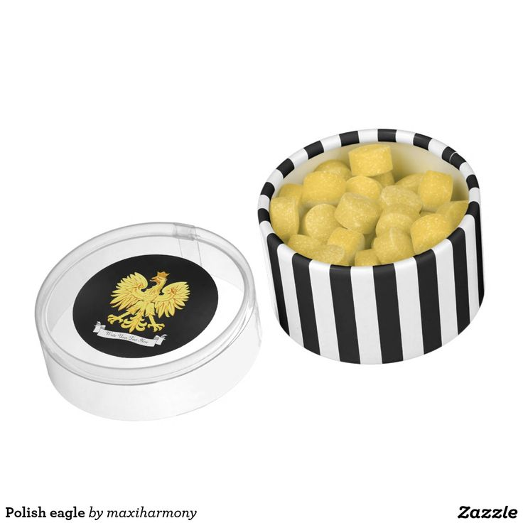 Polish eagle chewing gum favors