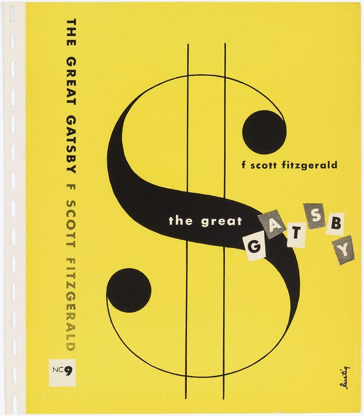 Alvin Lustig. Diseño editorial para portada de libro. Reurso tipográfico.