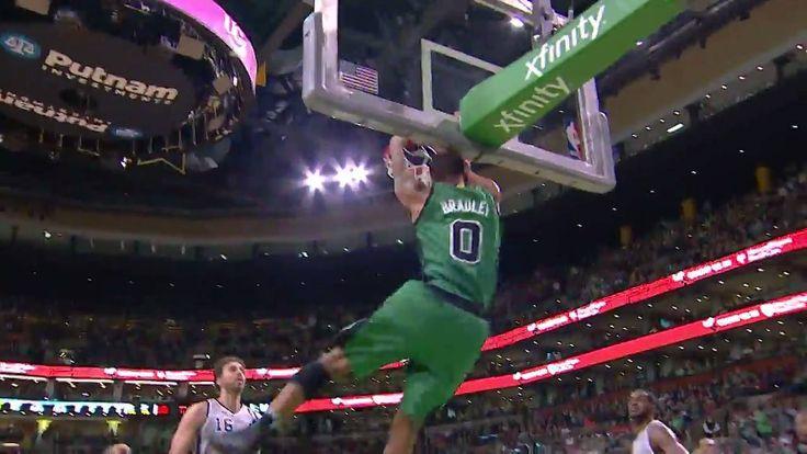 Al Horford & Avery Bradley break free for Boston Celtics!