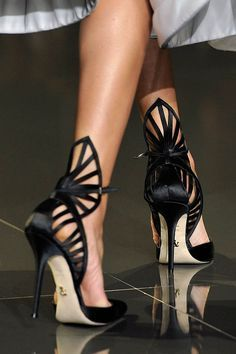 Ralph & Russo : Runway – Paris Fashion Week Haute-Couture Fall/Winter 2014-2015 Shoes