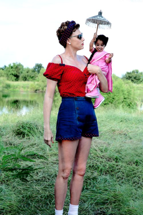 """AHS Freak Show"" Amazon Eve and Ma Petite"