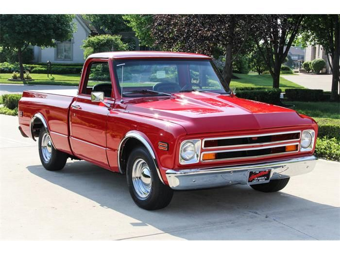 1968 Chevrolet C/K 10, this is what beautiful looks like ...