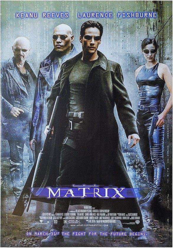 the matrix movie poster usa version