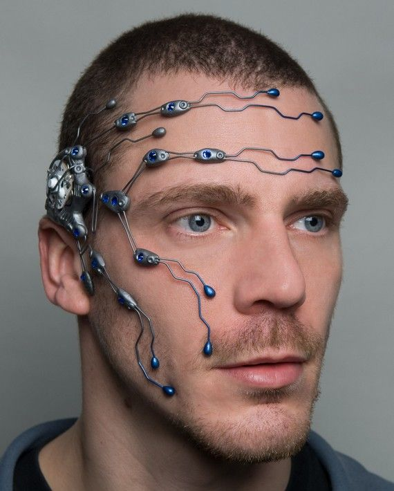 Nanotec cybernetic head system by DominicElvinDesign on Etsy, / TechNews24h.com #TechNews24h