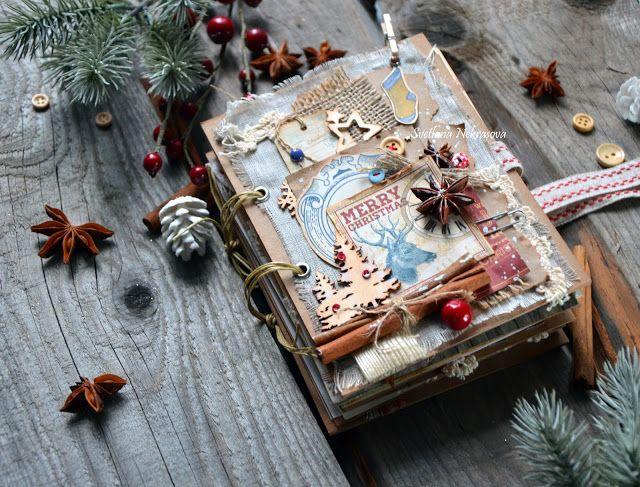 """Блог Scrapberry's: Вдохновение от Светы Некрасовой. Коллекция """"С Рождеством"""""""