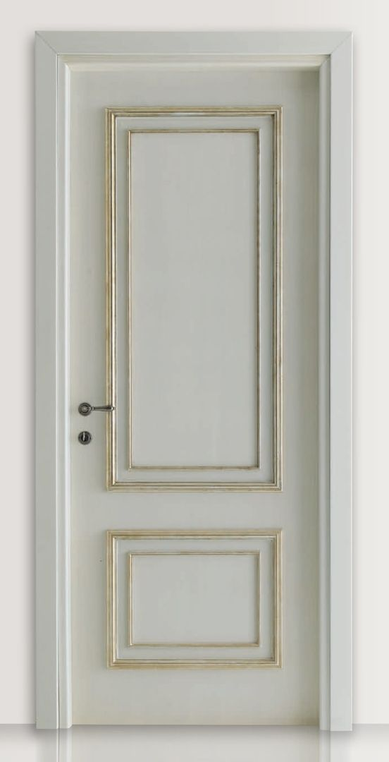 how to make nice white painted wooden doors