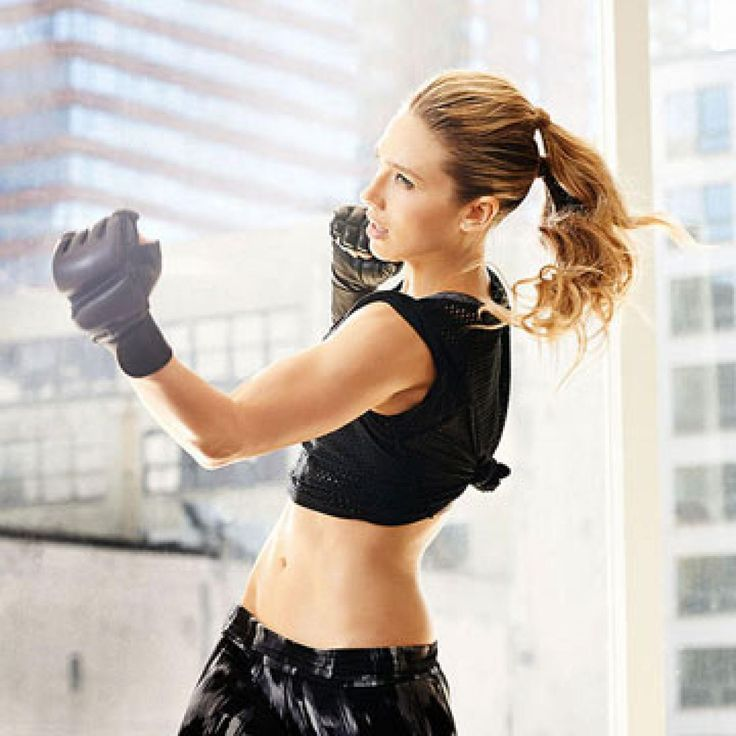 Give your workout the one-two punch it needs to melt mega calories in less time. This kickboxing, dance, and toning fusion routine will firm every inch. Score a physique this sexy by next week.