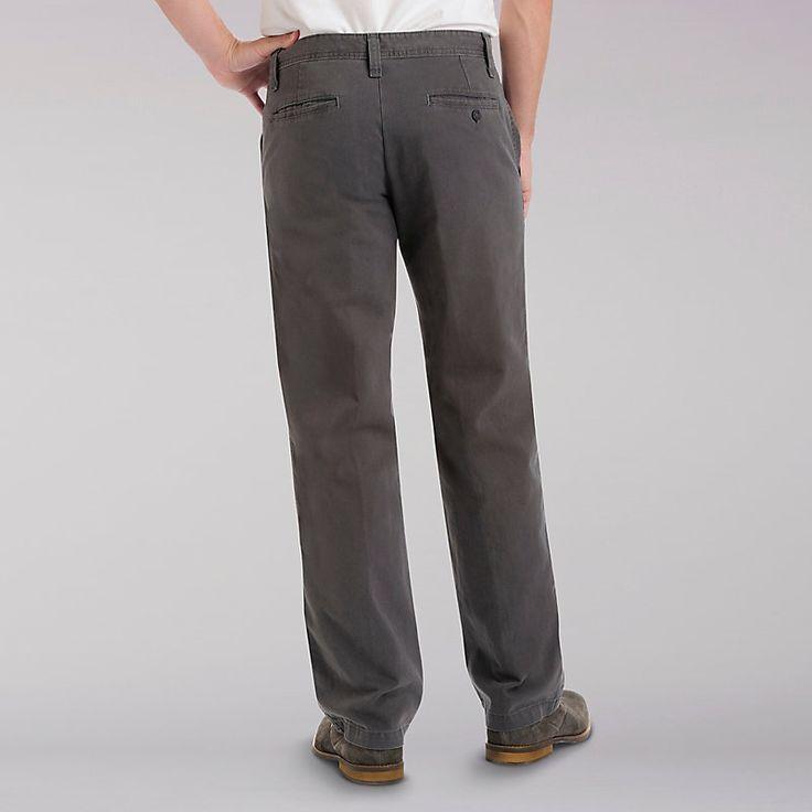 Lee Men's Weekend Chinos - Big & Tall Pants - 54x30