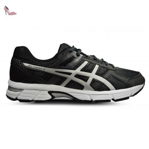 Gel-Kayano 24, Chaussures de Running Homme, Gris (Silver/Black/Mid Grey), 42.5 EUAsics