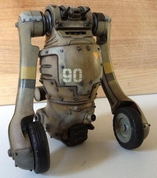borbeni robot S90 zvani Sredoje  Dieselpunk: battle robot