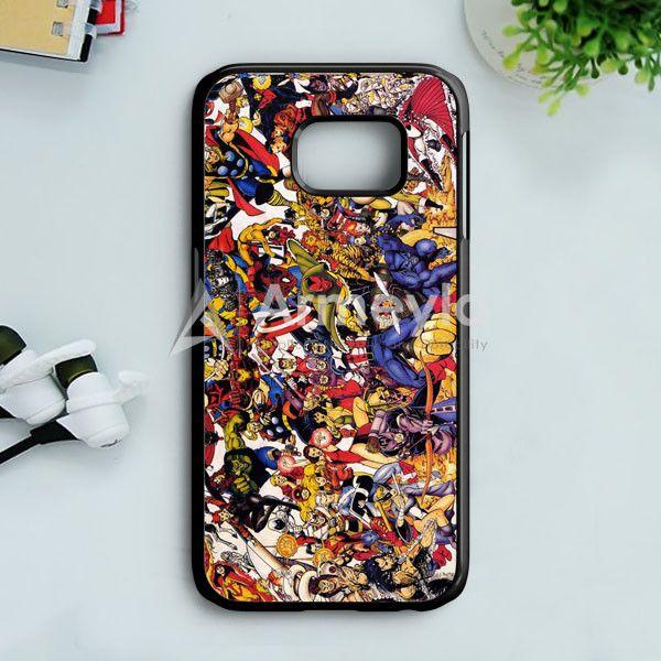 The Avengers Characters Art Samsung Galaxy S7 Case | armeyla.com