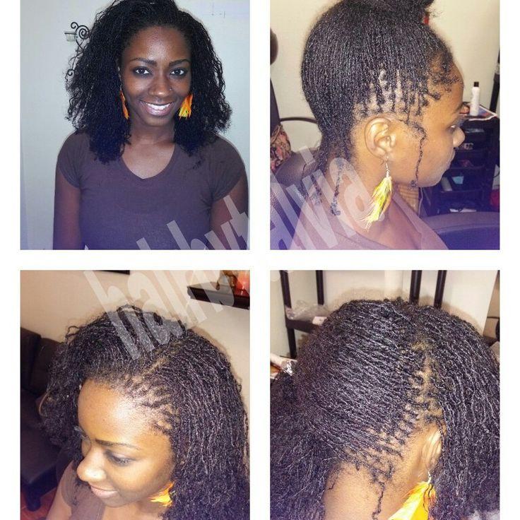 Sisterlocks in South florida @hairbytalvia on facebook