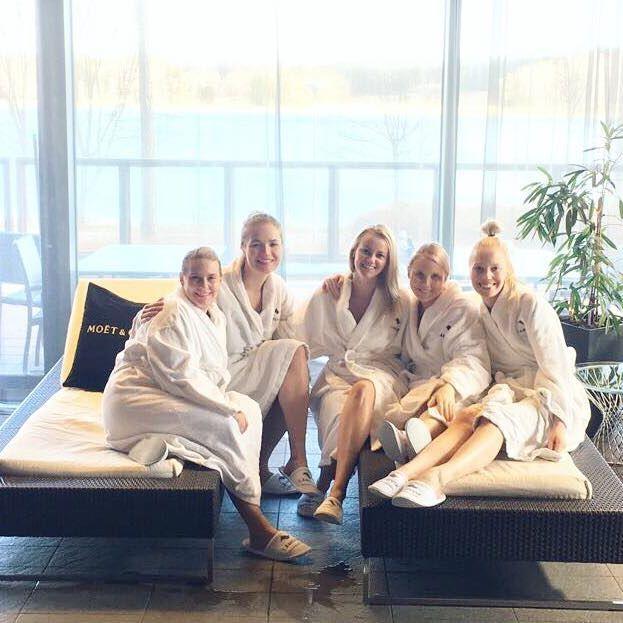 A perfect after-work ✨ #dreamteam #weekendmood #langvikhotel http://www.langvik.fi/
