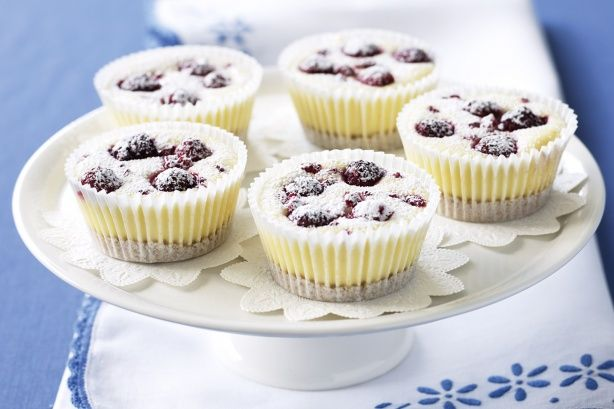Berry Cheese cakes