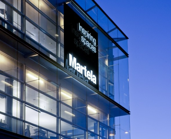Martela Headquarters, Takkatie 1, FI-00371 Helsinki, Finland.  www.martela.com  / Architect: Tommila Architects, Helsinki, Finland