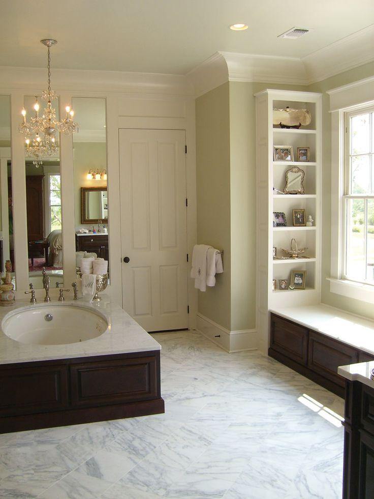 Burkitt Raised Luxury Home Master Bathroom PlansBathroom