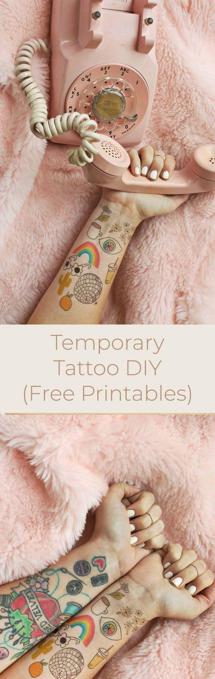 How to Make Temporary Tattoos   #  #TATTOOS #TemporarryTattooharrypotter #Tempor…  – Temporare Tattoos