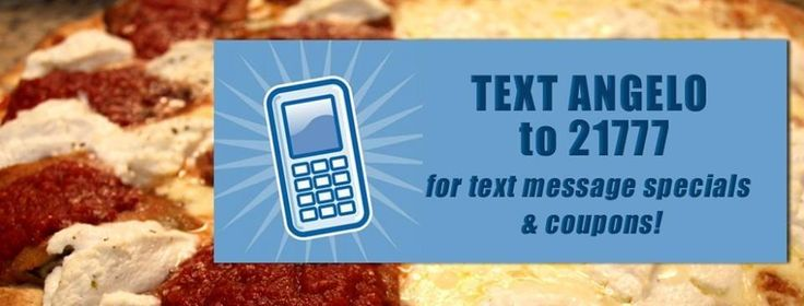 Angelo's Pizzeria Clifton, NJ Fast Delivery! - Text Angelo