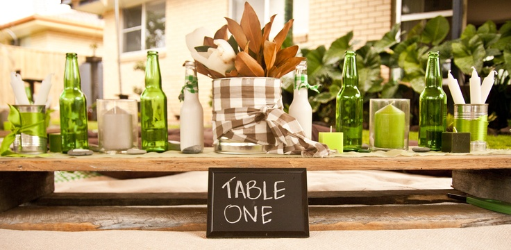 The Table Setting..........