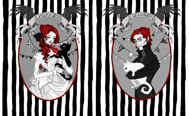 Latest project by illustrator, Abigail Larson, in cahoots with Black Phoenix Alchemy Lab.