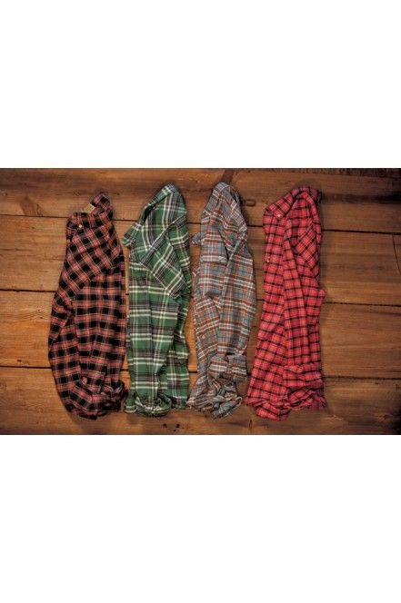 Men's Plaid Work Shirt Flannel for Men by Buffalo Jackson Trading Co