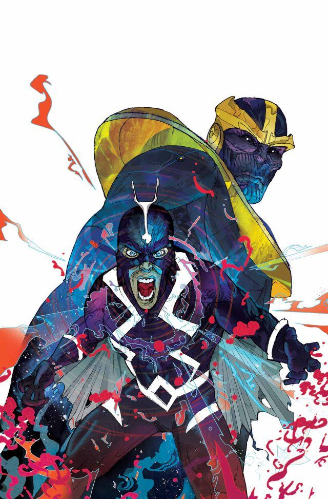 Christian Ward - What If Infinity Marvel Covers