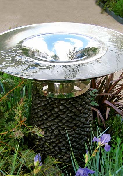 Vortex Water Fountain David Harber Elements Pinterest Features And Modern Feature