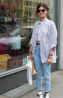 Necesitas unos botines blancos para dar un toque trendy a tus outfits