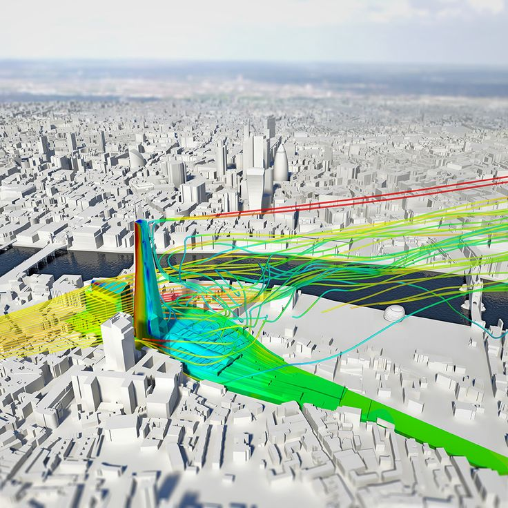 Wind Effects around tall London Buildings