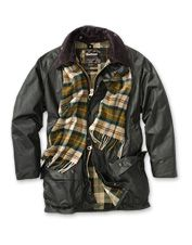 These men's waterproof jackets from Barbour are a casual take on winter warmth.