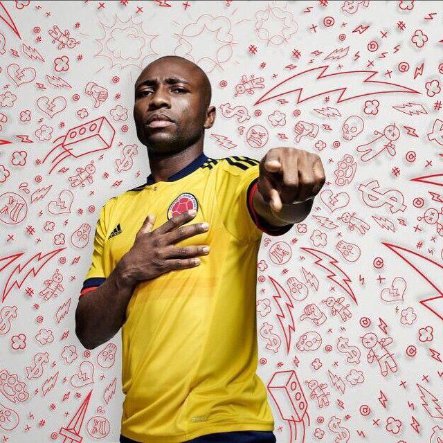 #PabloArmero Pablo Armero: Tú y yo somos Colombia. ¡Vamos a bailar! @adidasCO #therewillbehaters @FCFSeleccionCol