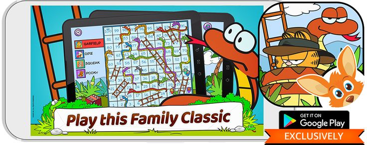 Garfield Snakes and Ladders - Play free on Rooplay!