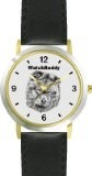Buy Chow Chow (SC) Dog - WATCHBUDDY® DESIGNER DELUXE TWO-TONE THEME WATCH - Arabic Numbers-EVENING TWILIGHT STYLE - Gray Dial with  Special Prices - http://greatcompareshop.com/buy-chow-chow-sc-dog-watchbuddy-designer-deluxe-two-tone-theme-watch-arabic-numbers-evening-twilight-style-gray-dial-with-special-prices