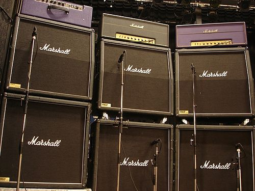 J Mascis' stack of Marshall amplifiers