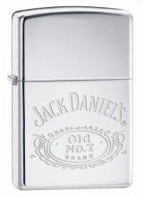 250Jd.321 High Polish Chrome, Jack Daniels'S(R) Logo cheap zippo lighter for…