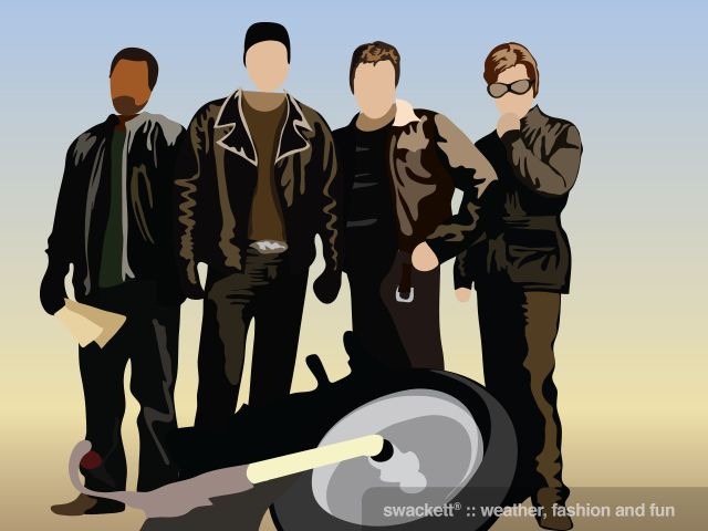 Swackett salutes William Hall Macy, Jr.; an American actor, screenwriter, teacher and director in theater, film and television who is show here as Dudley Frank from the 2007 film Wild Hogs.  (born March 13th)
