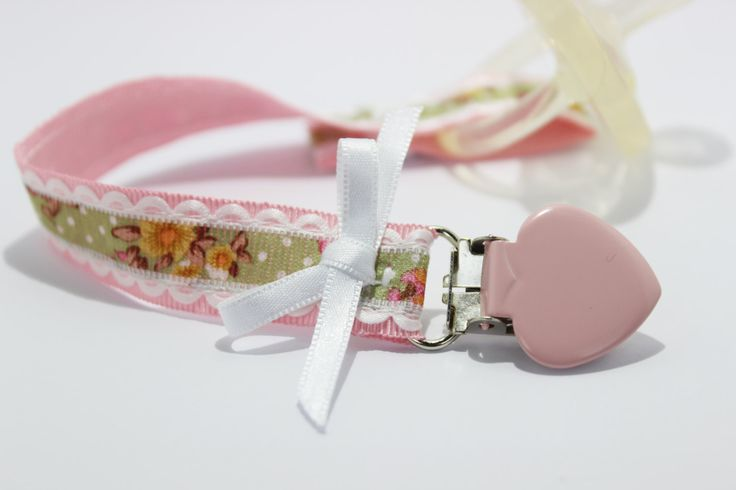 Pacifier clip, pacifier clip girl, Soothie pacifier, Baby pacifier clip, pink clip, Binky Clips, Baby Girl pacifier, Pacifier holder by BlackBunnyCreations on Etsy