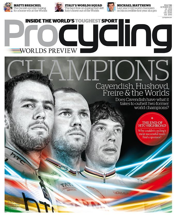 ProCycling Magazine -http://magazine.bikeradar.com/category/procycling/    #procycling #magazine #cycling #futurepublishing #bathjobs #londonjobs