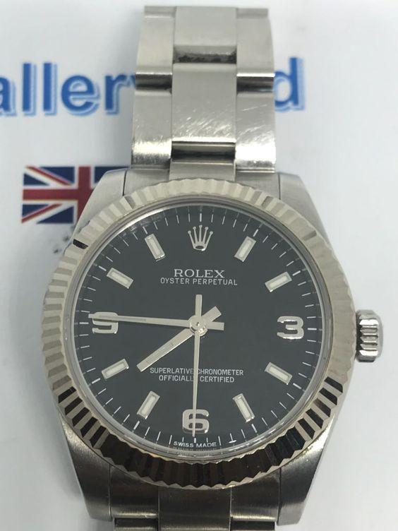 Rolex 31mm Oyster Perpetual, 177234 Midsize G series, 2013 #rolexwatch #rolexofficial #menswear  #menfashion  #menstyle  #watches  #dubaifashion  #uk  #style  #trending  #trendingnow  #bracelet  #blacklove #watches