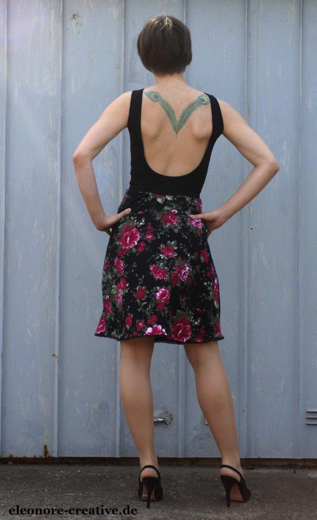 Backless dress von Sewera, denn auch ein schöner Rücken kann entzücken. ;-)