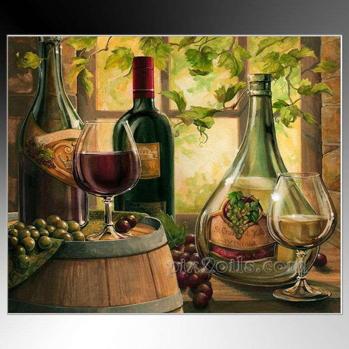 2017 Wall Art Fruit Grape Red Wine Glass Picture Art For: 13 Best Images About For The Bar On Pinterest