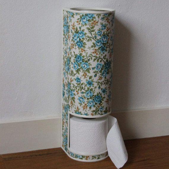 Toilet roll holder made of hard plastic for 3 rolls door KijkMaris