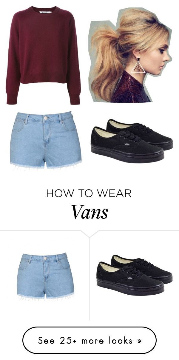"""Untitled"" by alythemushroom on Polyvore featuring Ally Fashion and Vans"