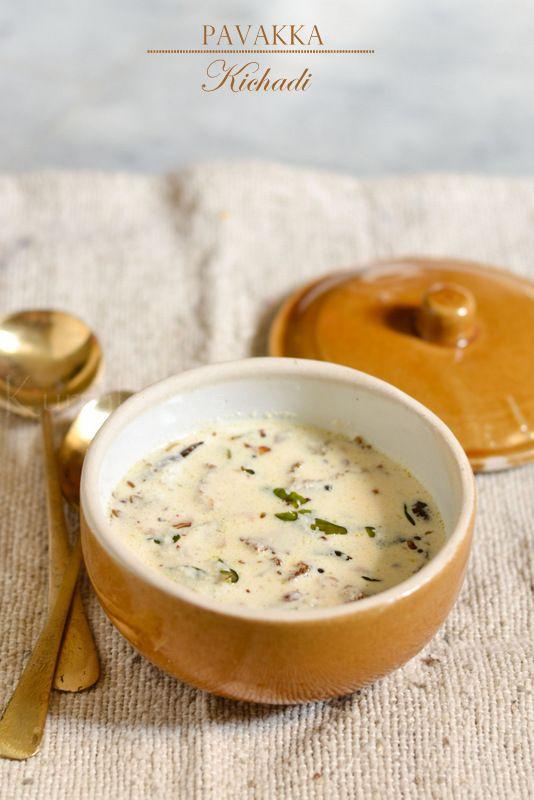 Pavakka Kichadi | Bitter gourd in coconut and yogurt sauce | kurryleaves