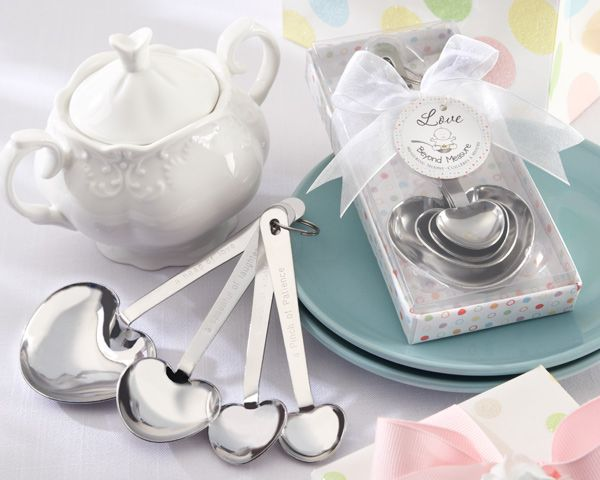 Love Beyond Measure - Measuring Spoon Baby Shower Favors: $4.95 #Babyshower
