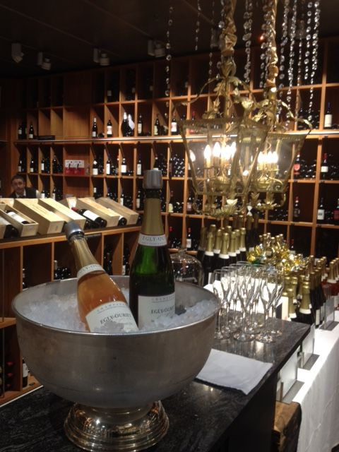 Champagne tasting at Globus Lausanne - Champagne Egly-Ouriet