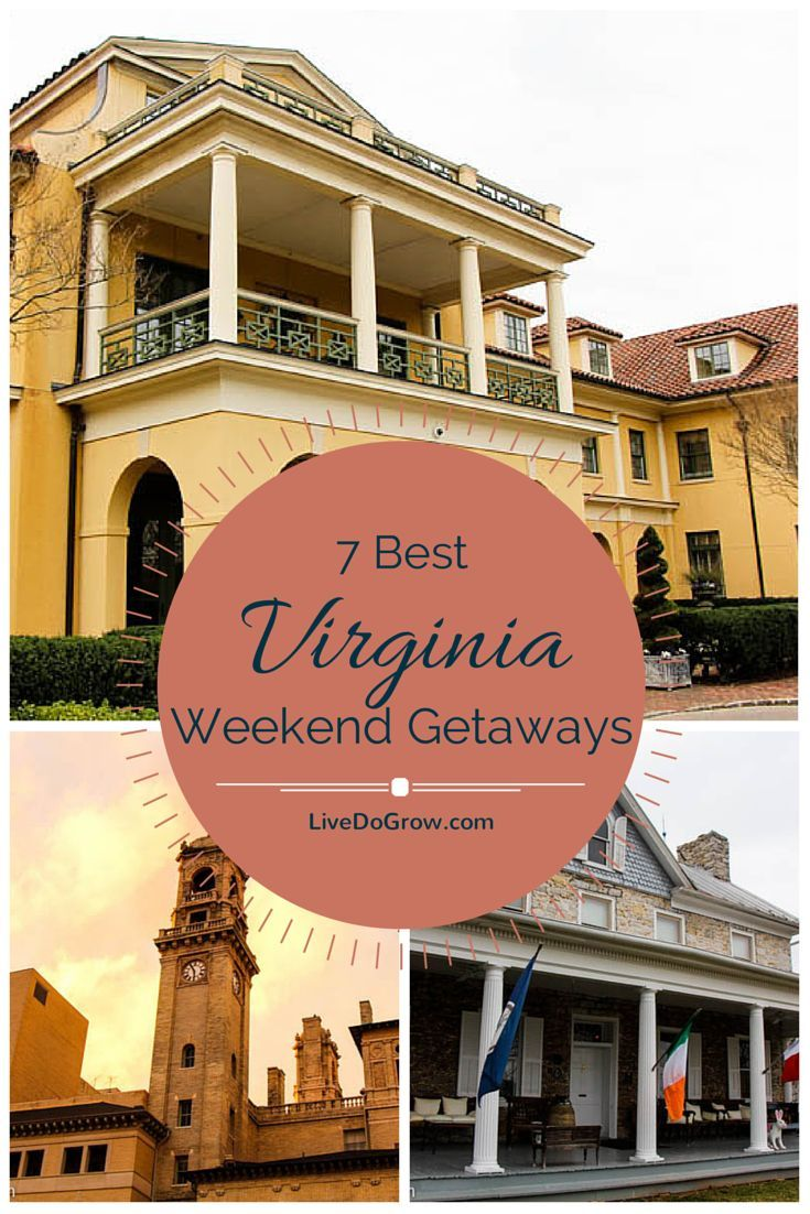 Looking for a weekend getaway in Virginia? Here is a list of the 7 best weekend getaway spots across the state. #LoveVA