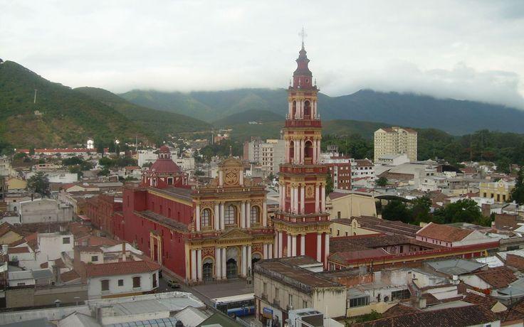 Salta, Cathédral, Argentine