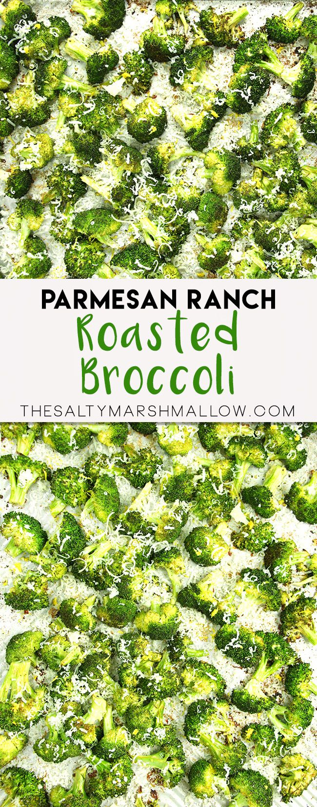 Parmesan ranch roasted broccoli is a super quick and easy to prepare side dish – whipped up on one sheet pan for easy clean up!  Broccoli roasted with ranch dressing mix, and garlic, topped with parmesan cheese! Remember to follow The Salty Marshmallow on Pinterest for all things that make me hungry! Confession:  I can...Read More »