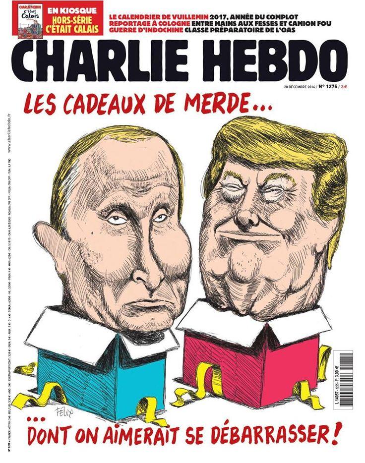 Charlie Hebdo - # 1275 - Mercredi 28 Décembre 2016 - Couverture : Felix